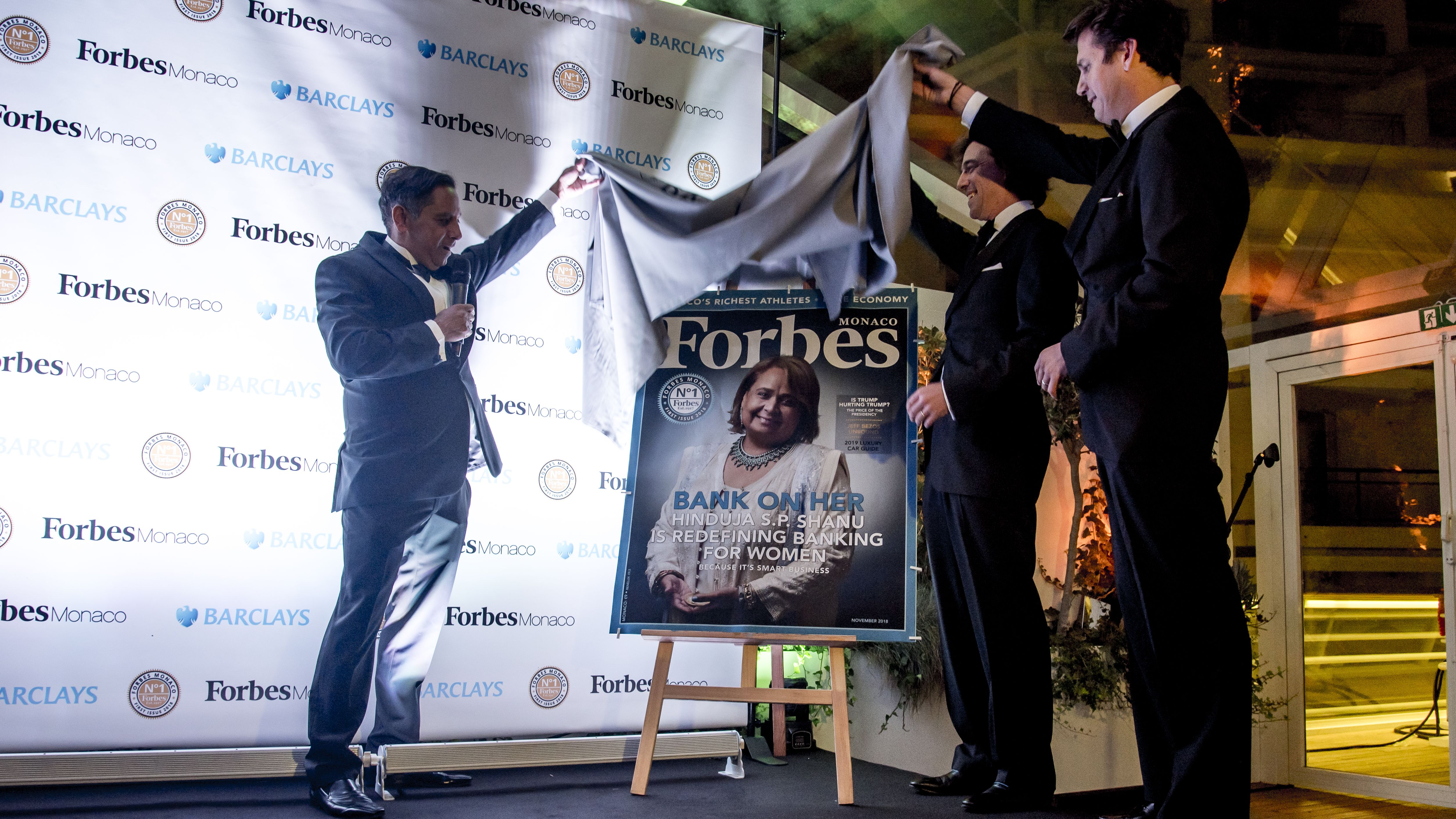 Forbes Monaco first issue cover Hinduja