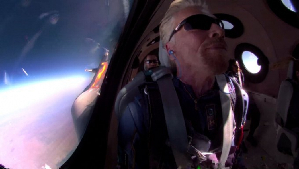 Richard Branson's 17-Year Journey Into Space: How The Virgin Founder Became First Billionaire To Fly Own Rocket